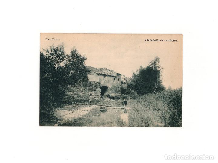 CALAHORRA.(LA RIOJA).- AVENIDA DE LA ESTACIÓN. (Postales - España - La Rioja Antigua (hasta 1939))