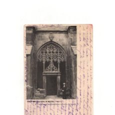 Postales: SANTA MARIA LA REAL DE NÁJERA.(LA RIOJA).- PUERTA DEL JARDÍN EN EL CLAUSTRO DE LOS CABALLEROS.. Lote 164798450