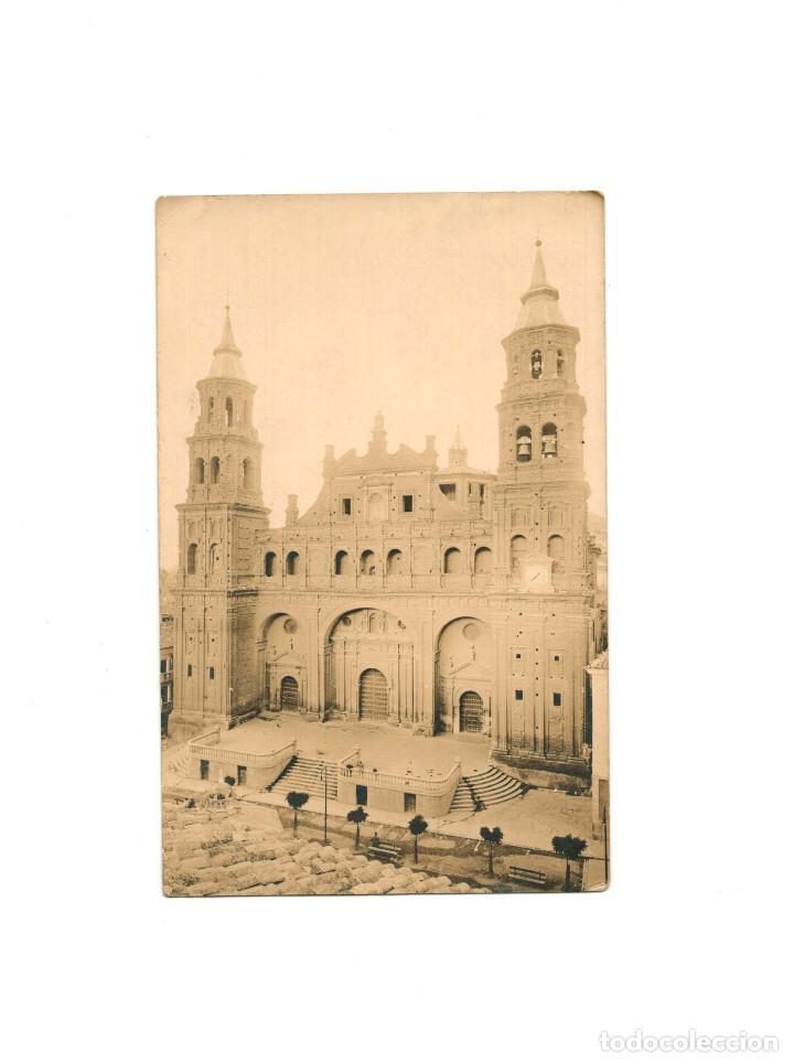 ALFARO .(LA RIOJA).- COLEGIATA DE SAN MIGUEL. POSTAL FOTOGRÁFICA. (Postales - España - La Rioja Antigua (hasta 1939))