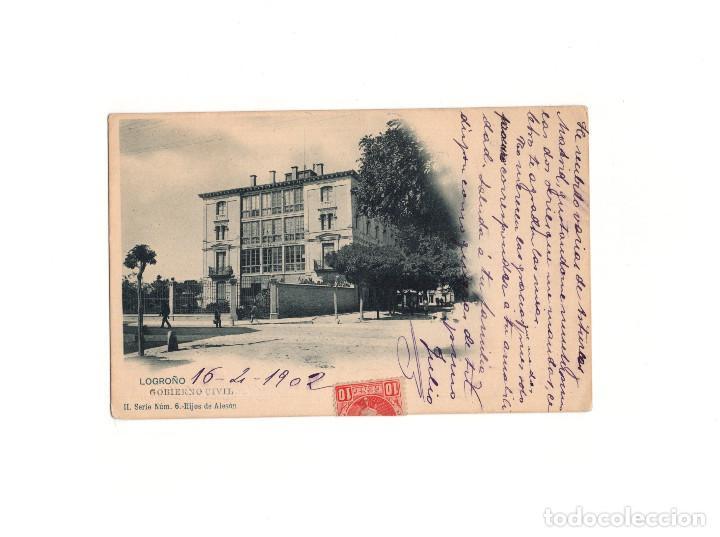 LOGROÑO.(LA RIOJA).- GOBIERNO CIVIL. (Postales - España - La Rioja Antigua (hasta 1939))