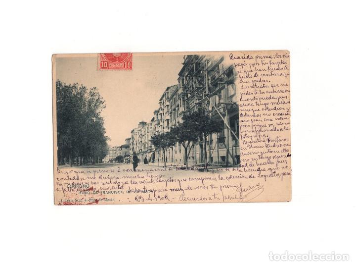LOGROÑO.(LA RIOJA).- MURO DE SAN FRANCISCO. (Postales - España - La Rioja Antigua (hasta 1939))