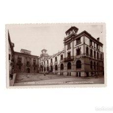Postales: LOGROÑO.(LA RIOJA).- PALACIO DE COMUNICACIONES, AL FONDO CASA DE ESPARTERO.. Lote 164823622
