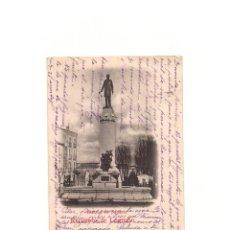 Postales: RECUERDO DE LOGROÑO. ESTATUA DE SAGASTA.. Lote 164842390