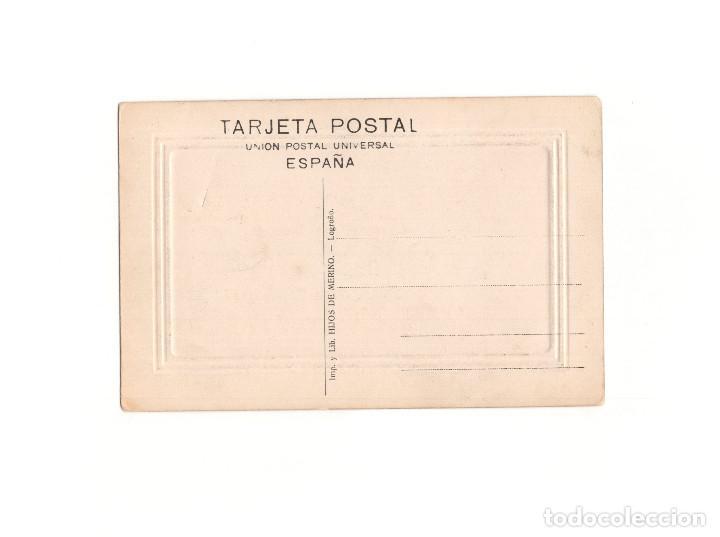 Postales: LOGROÑO.(LA RIOJA).- CALLE DE LA ESTACIÓN. - Foto 2 - 164842698
