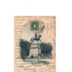 Postales: LOGROÑO.(LA RIOJA).- ESTATUA DE ESPARTERO.. Lote 164843434