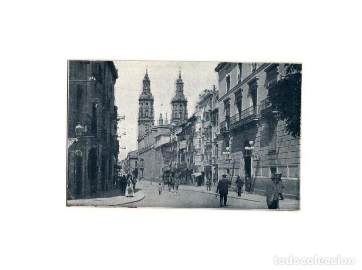 LOGROÑO.(LA RIOJA).- SANTA MARÍA DE LA REDONDA. (Postales - España - La Rioja Antigua (hasta 1939))