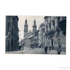 Postales: LOGROÑO.(LA RIOJA).- SANTA MARÍA DE LA REDONDA.. Lote 164847342