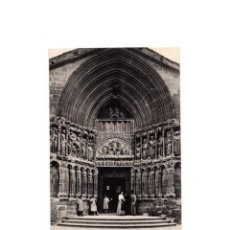 Postales: LOGROÑO.- PUERTA DE LA IGLESIA DE SAN BARTOLOMÉ.. Lote 164922146