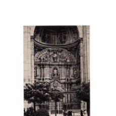 Postales: LOGROÑO.- PUERTA PRINCIPAL DE COLEGIATA.. Lote 164922294