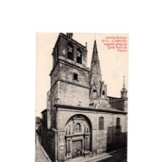 Postales: LOGROÑO.(LA RIOJA).- IMPERIAL IGLESIA DE SANTA MARIA DE PALACIO.. Lote 164922706