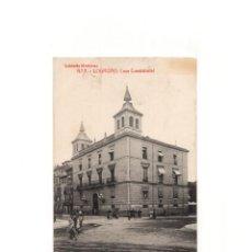 Postales: LOGROÑO.(LA RIOJA).- CASA CONSISTORIAL.. Lote 164923122