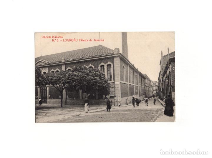 LOGROÑO.(LA RIOJA).- FÁBRICA DE TABACOS. (Postales - España - La Rioja Antigua (hasta 1939))