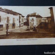 Postales: NIEVA DE CAMEROS LA RIOJA PLAZA VILLANUEVA. Lote 165752034