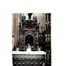 Postales: SANTO DOMINGO DE LA CALZADA .- ALTAR MAYOR Y MAUSOLEO DE SANTO DOMINGO.. Lote 166707706
