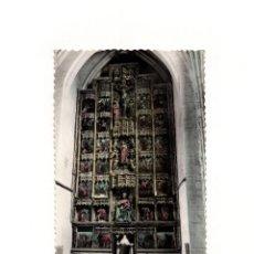 Postales: SANTO DOMINGO DE LA CALZADA .- RETABLO CAPILLA SANTA TERESA.. Lote 166708074