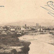 Postales: LOGROÑO - VISTA GENERAL - HIJOS DE ALESÓN - CIRCULADA AÑO 1911. Lote 167423256