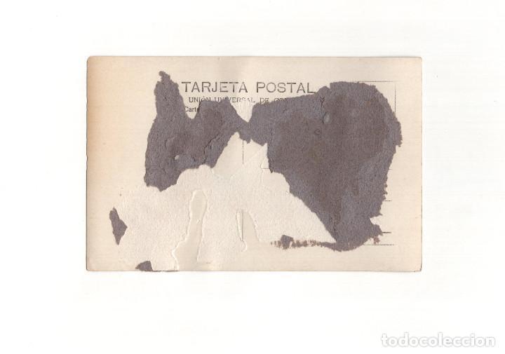 Postales: CALAHORRA.(LA RIOJA).- LA MOZA O ROLLO JURISDICCIONAL. POSTAL FOTOGRÁFICA. - Foto 2 - 167970692