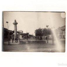 Postales: CALAHORRA.(LA RIOJA).- LA MOZA O ROLLO JURISDICCIONAL. POSTAL FOTOGRÁFICA.. Lote 167970692