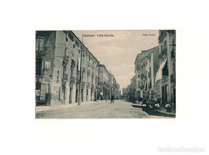 CALAHORRA.(LA RIOJA).- CALLE GRANDE. (Postales - España - La Rioja Antigua (hasta 1939))