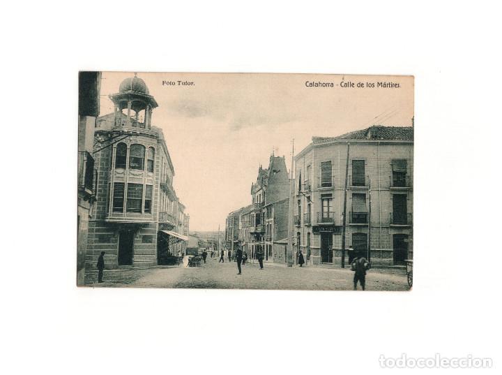 CALAHORRA.(LA RIOJA).- CALLE DE LOS MÁRTIRES. (Postales - España - La Rioja Antigua (hasta 1939))