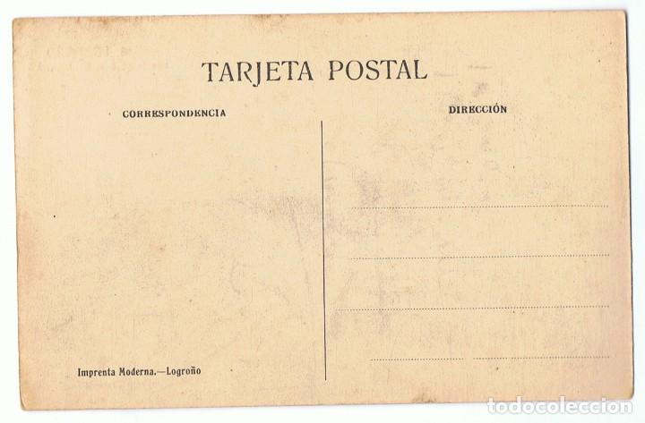 Postales: POSTAL LOGROÑO 16 IGLESIA DE SAN BARTOLOMÉ - Foto 2 - 171527432