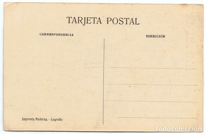 Postales: POSTAL LOGROÑO 17 SANTA MARÍA DE PALACIO - Foto 2 - 171529049