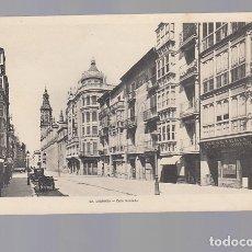 Postales: LOGROÑO.-CALLE MERCADO. Lote 177724070