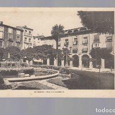 Postales: LOGROÑO.- PLAZA DE LA CONSTITUCIÓN. Lote 177724703