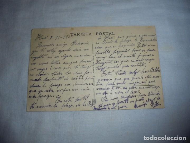 Postales: HARO.PLAZA DE LA PAZ.IMPRENTA Y LIBRERIA VIELA.ESCRITA Y FECHADA HARO 8/11/1930 - Foto 2 - 178624715