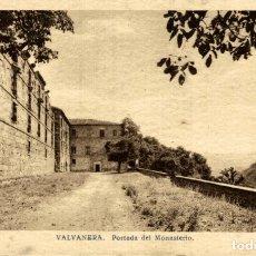 Postales: VALVANERA (LA RIOJA) - PORTADA DEL MONASTERIO. Lote 182670150