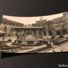 Postales: ANTIGUA POSTAL HARO LOGROÑO PLAZA DE LA PAZ FOTOGRÁFICA SIN DIVIDIR. Lote 183227180