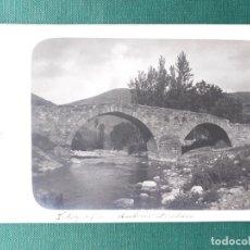 Postales: FOTOPOSTAL DE VINIEGRA DE ABAJO, PUENTE CANTO. COMARCA DEL ALTO NAJERILLA, LA RIOJA. . Lote 184989592