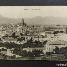 Postales: HARO-VISTA GENERAL-POSTAL ANTIGUA-(65.850). Lote 190169242