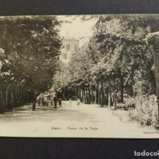 Postales: HARO-PASEO DE LA VEGA-POSTAL ANTIGUA-(65.851). Lote 190169323