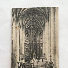 Postales: POSTAL. LOGROÑO. INTERIOR DE LA COLEGIATA. EDIC. ALMIRALL. THOMAS. H. 1925?.. Lote 190201408