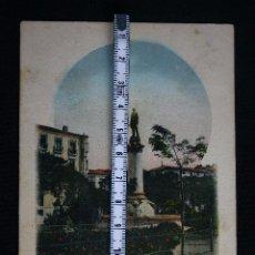 Postales: LOGROÑO-ESTATUA DE SAGASTA-HIJOS DE ALESON. Lote 192274288