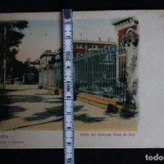 Postales: LOGROÑO-CALLE DEL GENERAL VARA DE REY-HIJOS DE ALESON. Lote 192275443