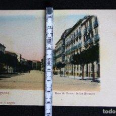 Postales: LOGROÑO-MURO DE BRETON DE LOS HERREROS-HIJOS DE ALESON. Lote 192283313