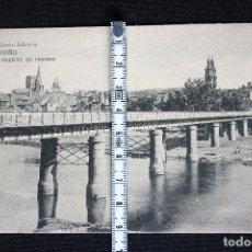 Postales: LOGROÑO-PUENTE DE HIERRO-HIJOS DE ALESON. Lote 192490353