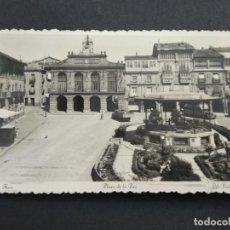 Postales: TARJETA POSTAL PLAZA DE LA PAZ HARO LIB. VIELA PP S.XX LA RIOJA. Lote 194002497