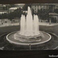 Postales: LOGROÑO-PLAZA MARQUES DE MURIETA Y FUENTE-ED·MONTAÑES-43-POSTAL ANTIGUA-VER FOTOS-(68.053). Lote 195126877
