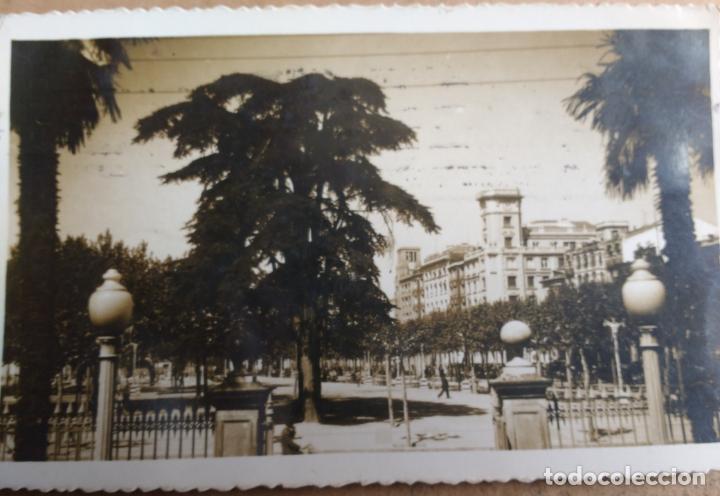 POSTAL LOGROÑO, VISTA PARCIAL DEL ESPOLON, EDICION JOSECHU (Postales - España - La Rioja Antigua (hasta 1939))