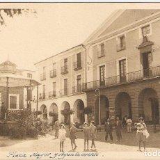 Postales: ALFARO (LA RIOJA) PLAZA MAYOR Y AYUNTAMIENTO. POSTAL FOTOGRÁFICA. FOTO EZQUERRA (ALFARO).. Lote 195693363