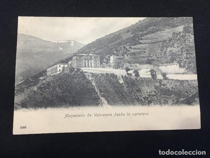 POSTAL MONASTERIO DE VALVANERA DESDE LA CARRETERA 3568 (Postales - España - La Rioja Antigua (hasta 1939))