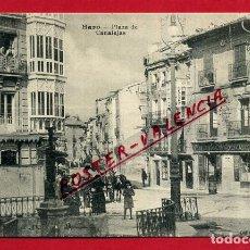 Postales: POSTAL LA RIOJA LOGROÑO HARO PLAZA DE CANALEJAS ORIGINAL P89926. Lote 198516375