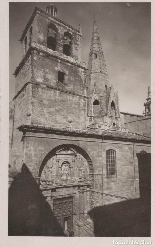 POSTAL LOGROÑO IGLESIA DE STA Mª DE PALACIO - 10 (Postales - España - La Rioja Antigua (hasta 1939))