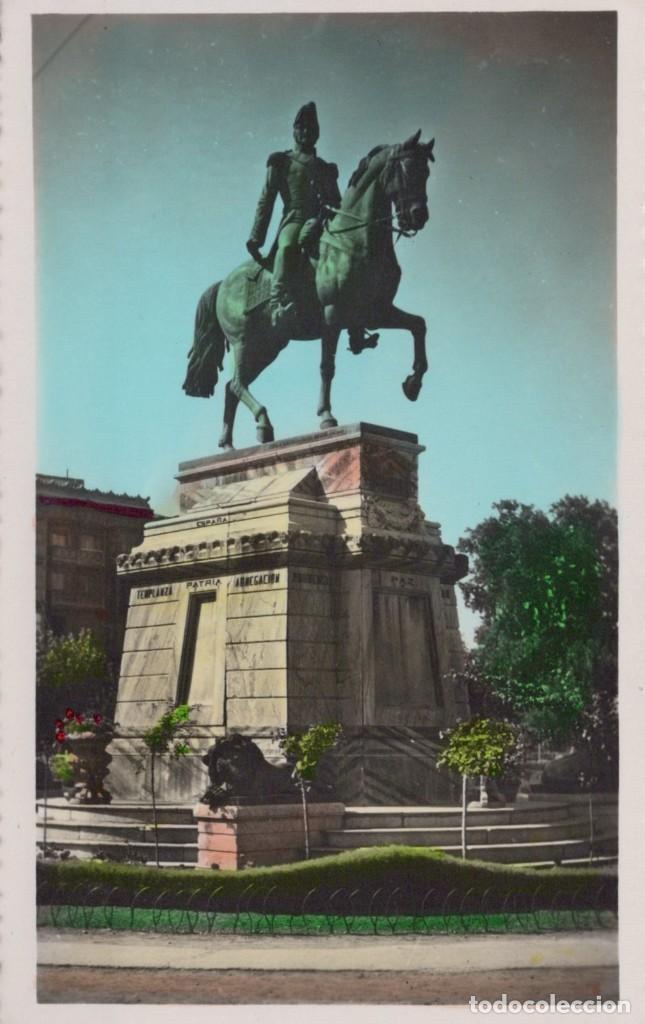 POSTAL DE LOGROÑO, MONUMENTO AL GENERAL ESPARTERO. Nº 35 JOSECHU (Postales - España - La Rioja Antigua (hasta 1939))