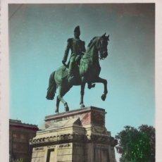 Postales: POSTAL DE LOGROÑO, MONUMENTO AL GENERAL ESPARTERO. Nº 35 JOSECHU. Lote 199673886