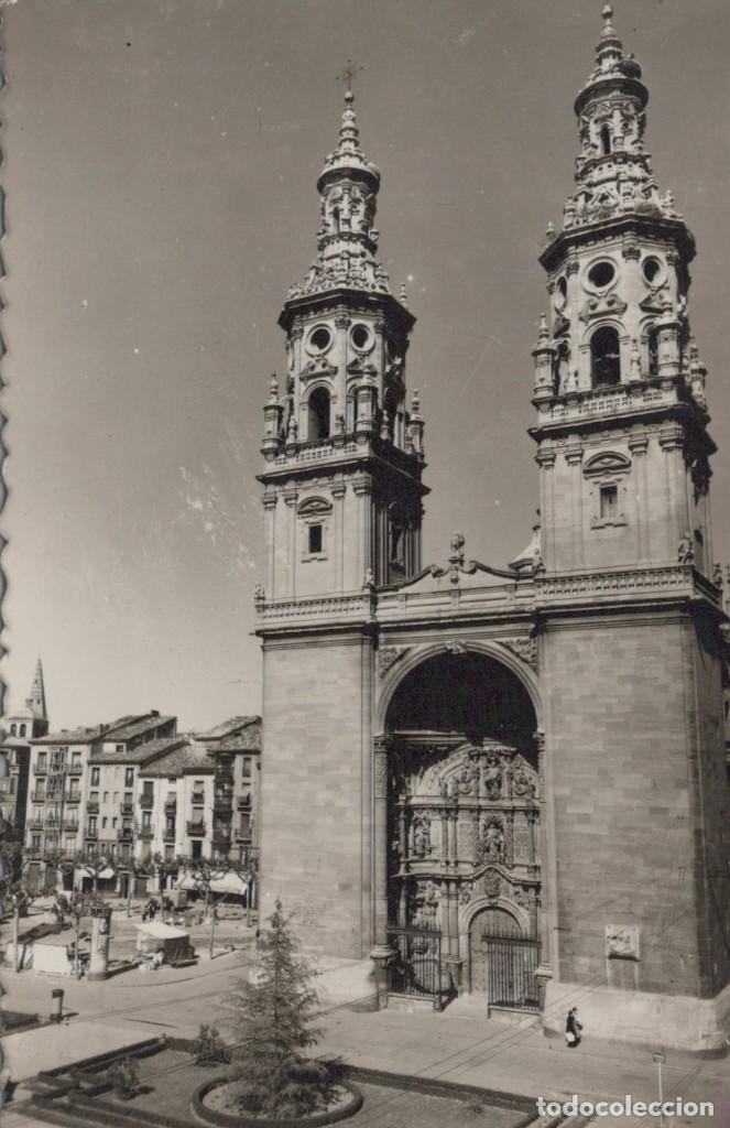 POSTAL TORRES GEMELAS DE LA REDONDA LOGROÑO ED SICILIA Nº 16 S/C (Postales - España - La Rioja Antigua (hasta 1939))