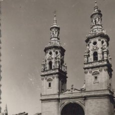 Postales: POSTAL TORRES GEMELAS DE LA REDONDA LOGROÑO ED SICILIA Nº 16 S/C. Lote 199706428